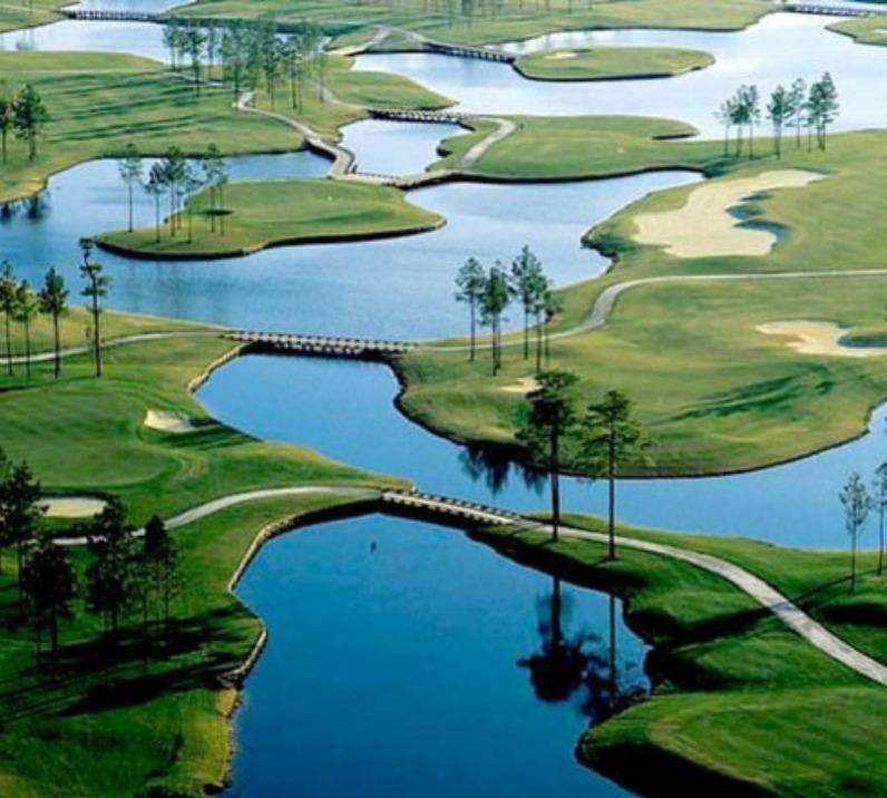 Lakes in Golf Course